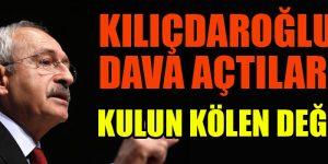 Aleviler Kılıçdaroğlu'na dava açtı