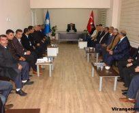 Viranşehir Ak Parti Yeni İlçe Teşkilatı İlk Kez Toplandı