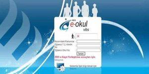 E-Okul veli bilgilendirme sistemi 2014