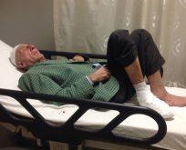 83 Yaşındaki Hastaya Kaymakam Citer Sahip Çıktı