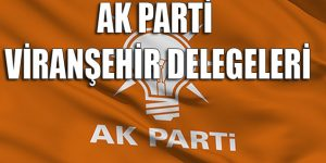 Ak Parti Viranşehir delegeleri