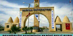 Harran Üniversitesi Rektörlük Seçiminin Tarihi Belli Oldu