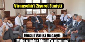 'Milis güçler Musul'a giremez'