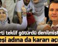 Erbakan'ın kızı AK Parti adaylığı için konuştu