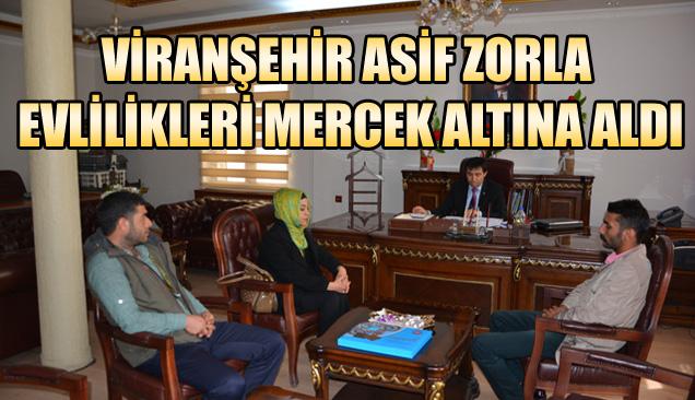 Viranşehir ASİF zorla evlilikleri mercek altına aldı