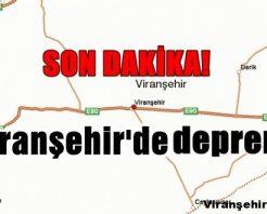 Viranşehir'deki Deprem : Sistem hatası