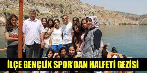 İlçe Gençlik Spor'dan Halfeti Gezisi