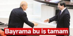AK Parti MHP koalisyonu bayrama tamam