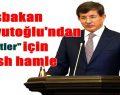 Başbakan Davutoğlu..