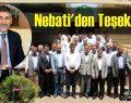 Nebati'den Teşekkür..