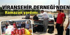 İyilik Kervanı : Viranşehir Derneği..