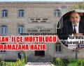 Arslan: İlçe Müftülüğü Ramazana Hazır