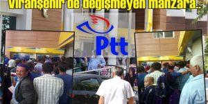 Viranşehir'de ŞNT yardımında izdiham