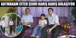 Kaymakam Citer'in Ramazan'da Ev Ziyaretleri Sevindirdi