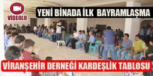 Viranşehir Derneği Üyeleri ile Bayramlaştı