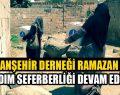 Viranşehir Derneği Ramazan'da Suriyelileri Sevindirdi