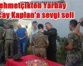 Yarbay Kaplan için tören düzenlendi