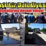 Viranşehir Belediyesi, Yol çalışmalarına devam ediyor