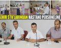 Viranşehir'de STK'lardan, Başarılı Sağlık Personeline Plaket