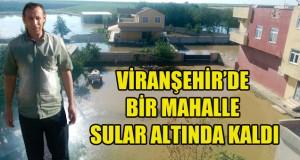 Viranşehir'de Bir Mahalle Sular Altında Kaldı