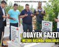 Duayen Gazeteci Eyyüp Seyrek, Dualarla anıldı