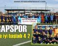 Gapspor Lig'e iyi başladı