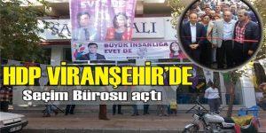 HDP Viranşehir Seçim Bürosu açıldı