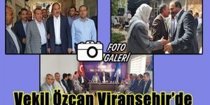 Halil Özcan,Viranşehir halkının desteğini istedi