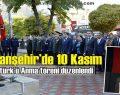 Viranşehir'de 10 Kasım Atatürk'ü Anma töreni düzenlendi