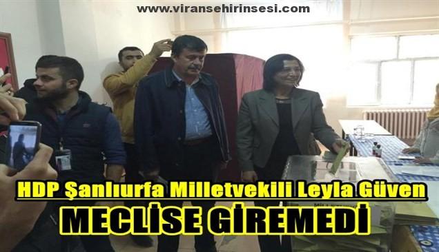 Leyla Güven Meclise giremedi