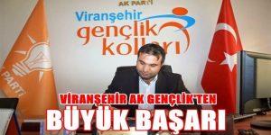 Viranşehir AK Gençlik'ten başarı