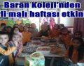 Baran Koleji'nden Yerli malı haftası etkinliği