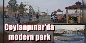 Ceylanpınar'da modern park