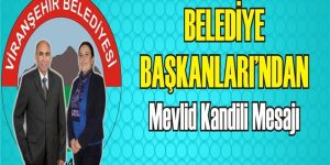 Viranşehir Belediyesi'nden Kandil Mesajı