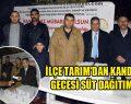 Viranşehir'de Süt Dağıtıldı