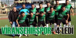Viranşehirspor 4'ledi