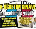 Açıköğretim Sınavları  Viranşehir'de yapılsın