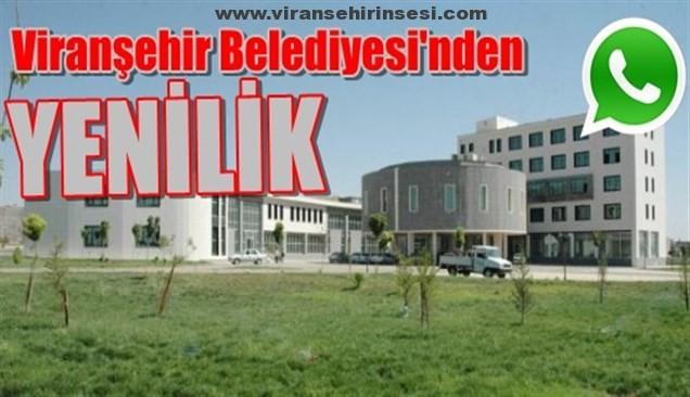 Viranşehir Belediyesi'nden Yenilik