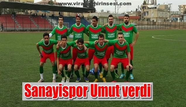 Sanayispor İlk Hazırlık Maçını Kazandı