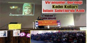 Viranşehir'de İslam Şehitleri Dualarla Anıldı