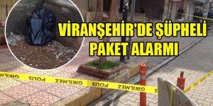 Viranşehir'de Bomba Paniği
