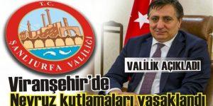 Viranşehir'de Nevruz Kutlamaları Yasaklandı