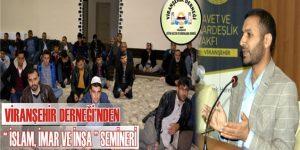Viranşehir'li Vaiz İslam'a Değindi