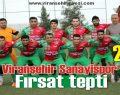 Sanayispor Şampiyonluk yolunda yara aldı