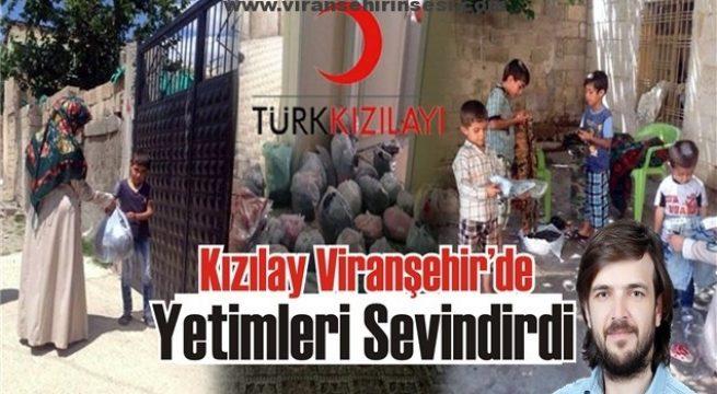 Kızılay Viranşehir'de Yetimleri Sevindirdi