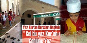 Viranşehirliler Kur'an-ı Gönlüne Yazıyor