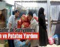 STK'Lardan Suriyelilere Soğan ve Patates Yardımı