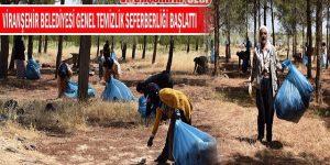 Viranşehir Belediyesi Genel Temizlik Seferberliği Başlatı