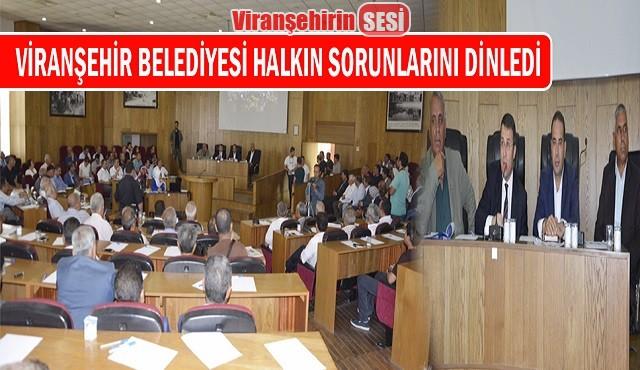 Viranşehir Belediyesi Halkın Sorunlarını Dinledi