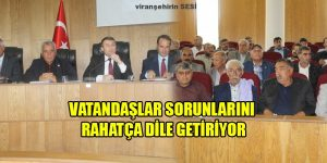 Viranşehir'de Halk Toplantıları Sürüyor